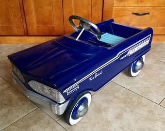 Vintage Fully Restored 1960 Murray Tee Bird Pedal Car