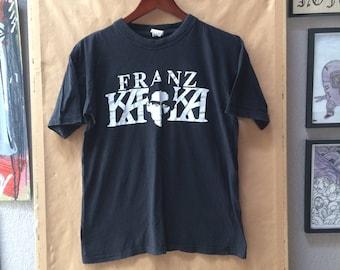 Vintage Franza Kafka Shirt Metamorphosis The Trial The Castle 1980's Literature
