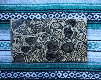 Oyster Cutting Board