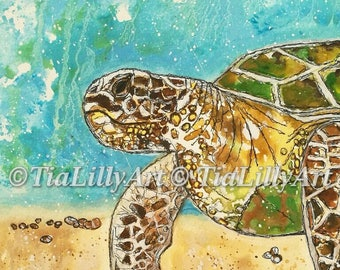 Turtle A4 print