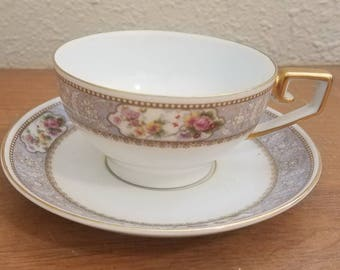 Vintage Cambridge 4183 by Tirschenreuth Bavaria TeaCup and Saucer Fine China
