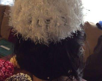 Fur and eye lash Bun Cover 2 for 35