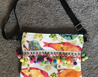 Colorful crossbody bag