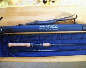 Wright & McGill 7ft. 3-piece kevlar bait casting rod