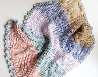 Baby, Blanket, Newborn Blanket, Colorful Baby Blanket