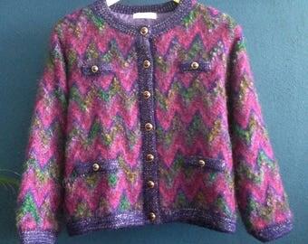 Vintage mohair vest.