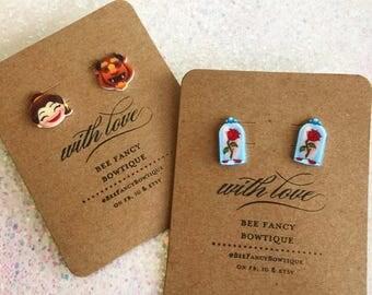 Enchanted Rose Earrings