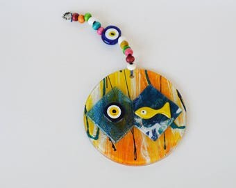 Evil Eye Wall Hanging - Evil Eye For Home - Evil Eye Decor - Evil Eye Protection - Evil Eye For Kitchen  Evil Eye Wall Decor, Mati - Filaxto