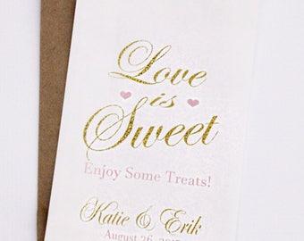 Wedding Favor Bag, Candy Bags, Popcorn Bags