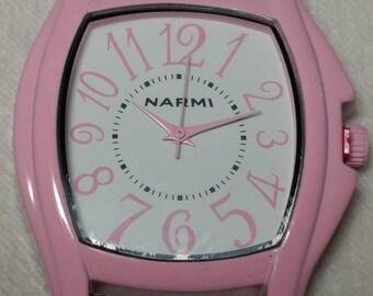 Narmi Watch Face - Light Pink