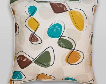 Mid century style 'Spiro' cushion