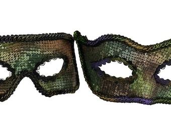 Lazaro-Soren Mardi Gras Masquerade Couple C-0658GM