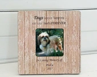 personalized pet frames - personalized dog frames - pet loss gifts - dog remembrance - pet remembrance - pet smypathy gifts - pet memorials