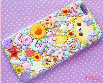 Kawaii sweet decoden iPhone 6 deco case -Sweet Days- by Dolly House