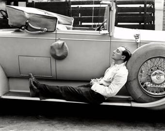 Buster Keaton actor and comedian taken in the 1920's