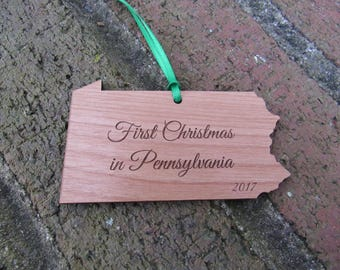 Pennsylvania State Ornament