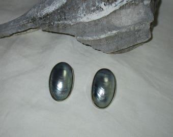 Great Falls Metal Works Nautilus Shell Earrings