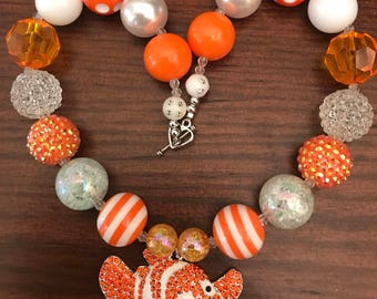 Finding Nemo Chunky Bubble Gum Necklace (Child/Toddler)