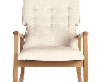 Risom Rocker   Rocking Chair Designed By Jens Risom, In Oak, MSRP 2650,