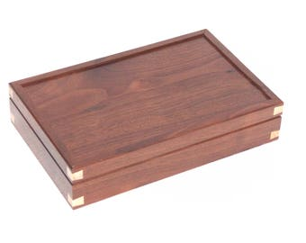 Handcrafted Walnut Wood Box