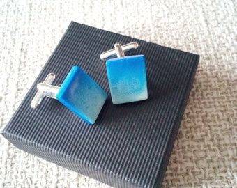 Blue Skies Cufflinks