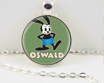 Retro Oswald Pendant or Key Chain