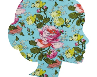 Rose Alchemy/ Lucy and Mabs Reusable pad or pantyliner / Made to Order