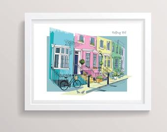 Notting Hill Print