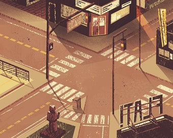 Sunset Intersection