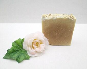 Oatmeal Milk and Honey Soap, Oatmeal Soap, Honey Soap, Milk Soap, Handmade Soap, All Natural Soap, Artisan Soap, Homemade Soap