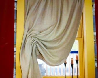 Double Festoon Curtains