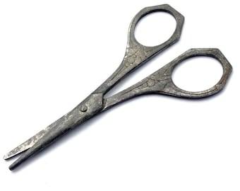 Art Deco Steel Scissors / Vintage Art Deco Scissors