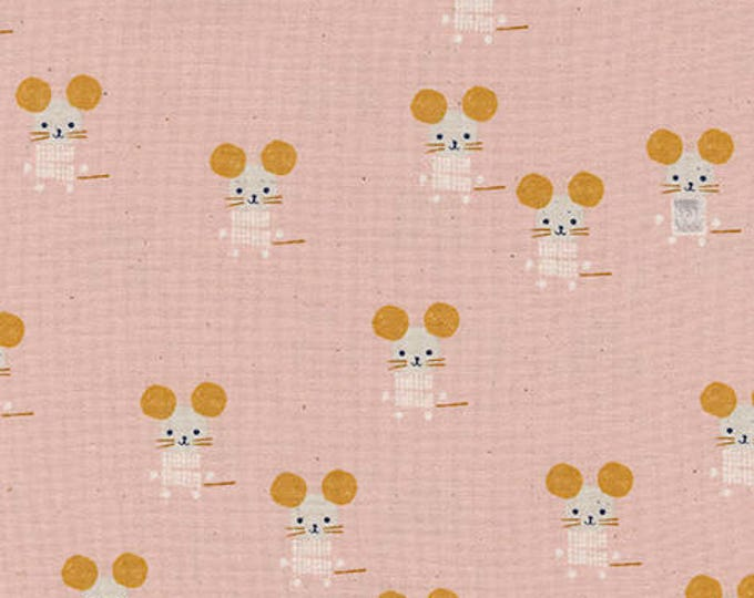 Pre-Sale- Little Friends in Pink -Sunshine -Alexia Abegg for Cotton + Steel