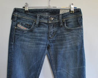 Vintage DIESEL WOMEN'S JEANS with advance patina size W-27...........(054)