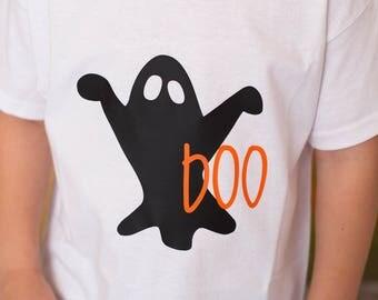 Boo, Ghost shirt, Boys Ghost shirt, Ghosts, Halloween, Boys Halloween shirt, Boys Boo shirt, Halloween shirt, Boys tee,