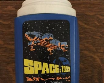 SUMMER SALE 20% OFF Vintage Space: 1999 Thermos 8 Ounce Lunchbox Thermos