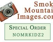 SPECIAL ORDER for NOMRKIDZ2