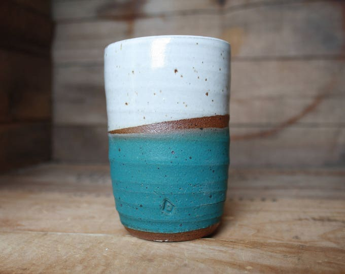 Tumbler - Ceramic - Handmade - KJ Pottery