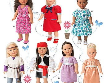 "Simplicity Sewing Pattern 1342 18"" Doll Clothes"