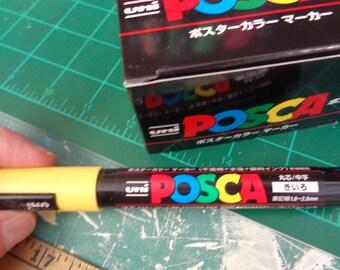 Uni-posca Paint Marker Pen - Medium Point - Set of 15