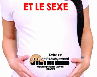 FUNNY MATERNITY SHIRT baby download cm349