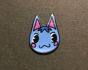 Rosie Animal Crossing Pocket Camp inspired pin