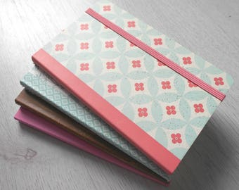Block notes, notebook, memo flowers new