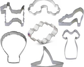 7 Piece Wizard of Oz Cookie Cutter Set