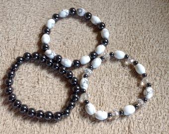 Black and White Triplet