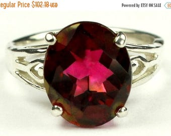 On Sale, 30% Off, Crimson Fire Topaz, 925 Sterling Silver Ring, SR139