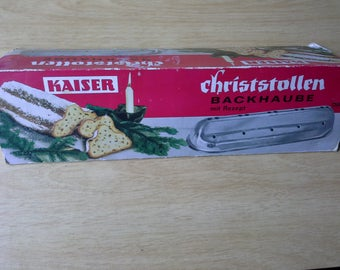 Vintage Stollen Mould by Kaiser