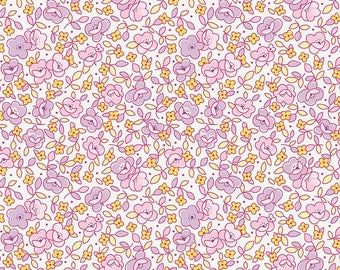 Little Dolly Main Lilac SKU: C6360-LILAC by Elea Lutz for Penny Rose Fabrics