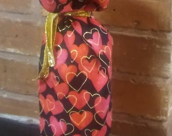 Valentines Wine Bag - Ready to Ship!