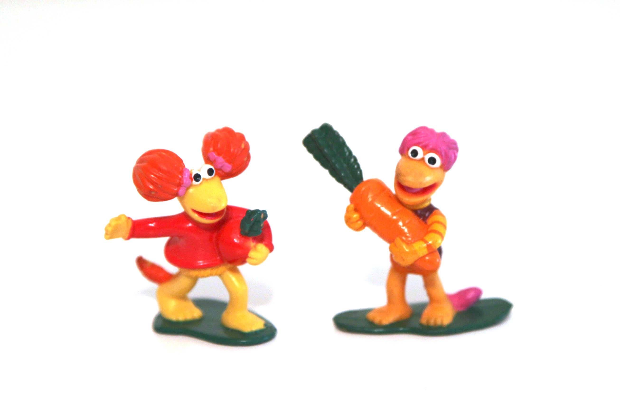 Toys For Under 1 : Vintage s fraggle rock pvc figures set of under toys